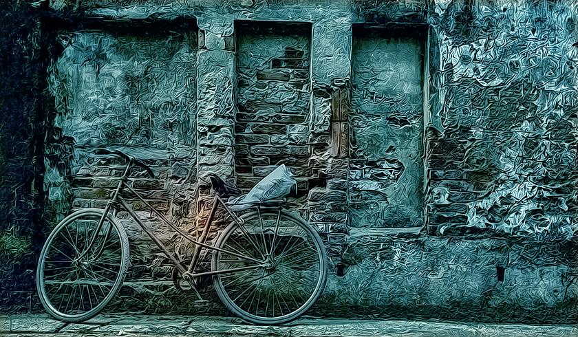 Dios no cuida bicicletas